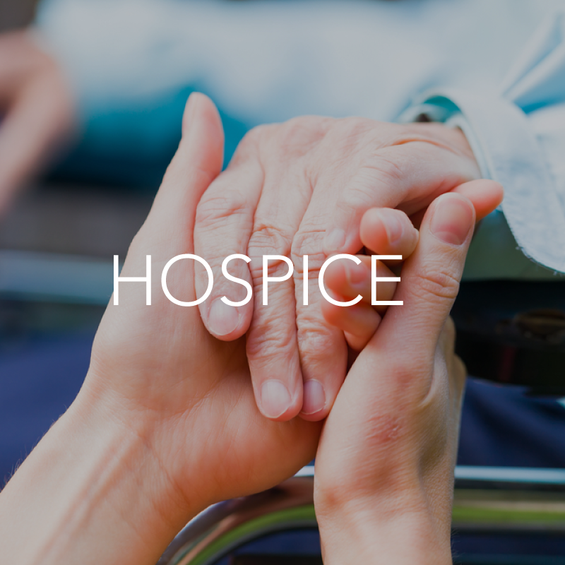 Hospice healthcare setting